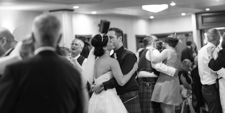 First dance at the Woodlands Hotel, Dundee