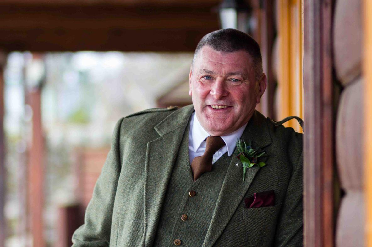 weddings photography groom Glen Clova Angus