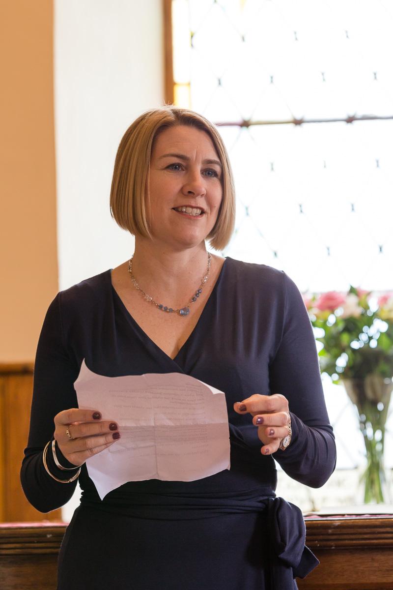 Wedding speech Clova Kirk Angus