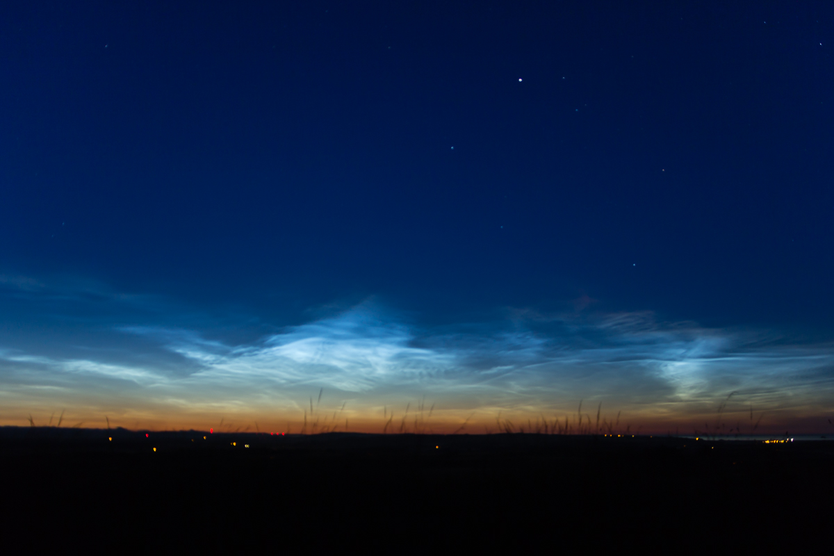 Noctilucent Clouds over Angus