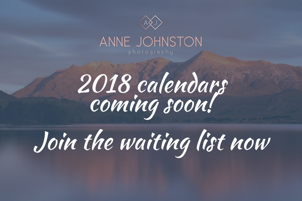 2018 Scotland Landscape Calendar