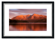 Fine art framed print of Beinn Eighe Sunrise