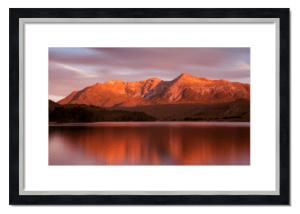 Fine art framed print of Beinn Eighe Sunrise