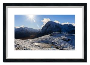 Fine art framed print of Buachaille Etive Mor, Glen Coe