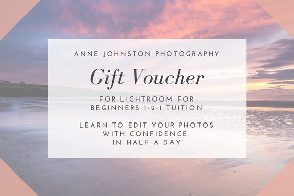 Gift voucher for Lightroom for Beginners 1-2-1 course in Angus, Dundee and Perth