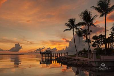 Lever de soleil, Keys, Floride