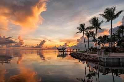 Lever de soleil, Keys Marathon, Floride
