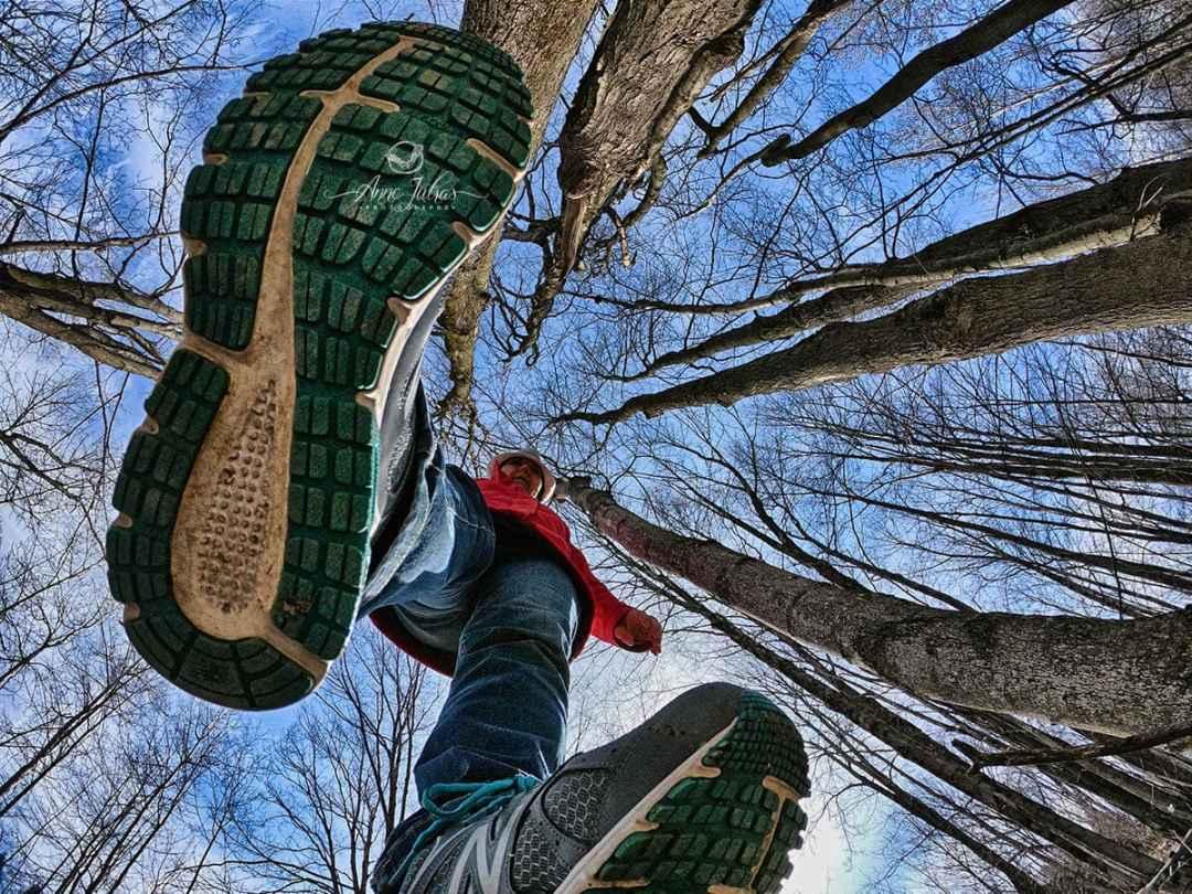 Idée photo créative | Perspective sous les pieds