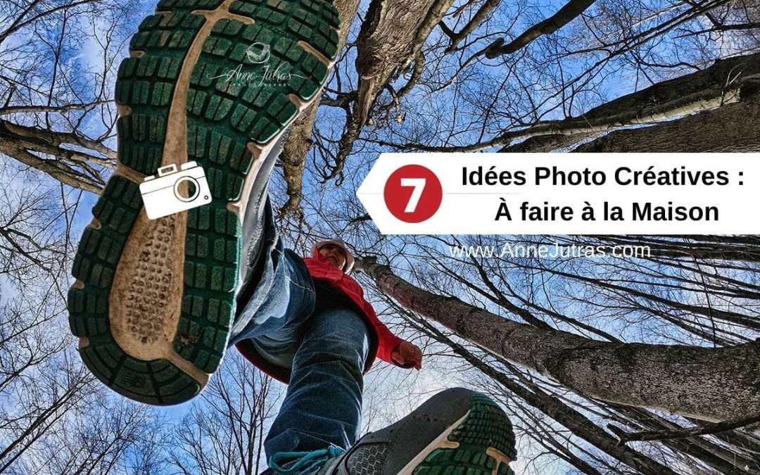 7 idées photo créatives à faire à la maison