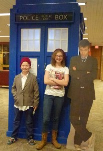 Dr Who 50th Anniversary party at our local library