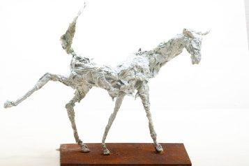 AnneKunst_Sculptur_Antilopentier_weiss_Bronze