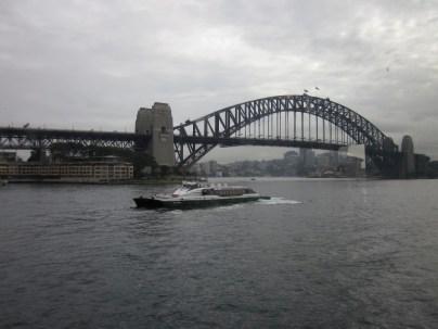 The Sydney Harbour Bridge (Photo copyright: Anne Lawson 2014)