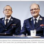Pori police chief Timo Vuola and Mikko Paatero were close.