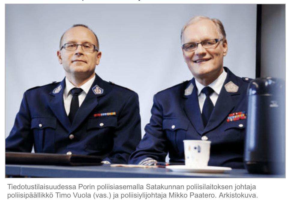 Timo Vuola ja Mikko Paatero