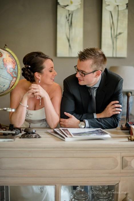 Huwelijksfotograaf Joke & Tom Oostkamp Ter Leepe Zedelgem - shoot antiekzaak
