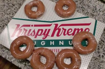 Happy Krispy Kreme
