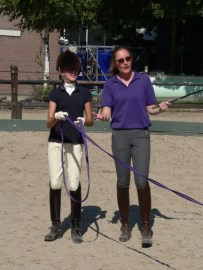 Annelies in de NH circels op Horse Event 2012
