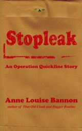 cover for Stopleak, a romantic spy novel