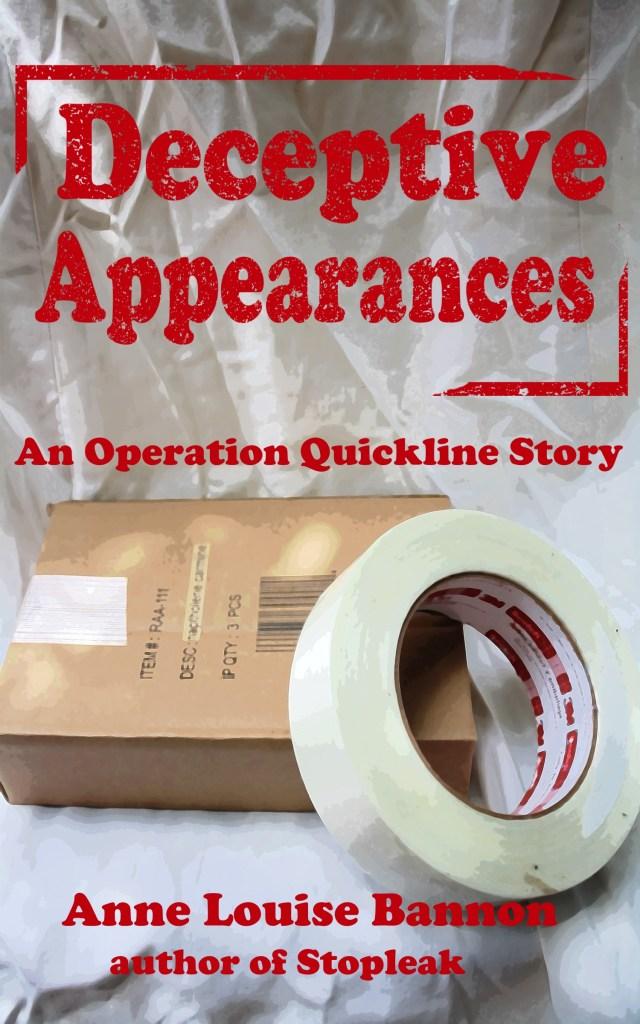 Cover art for the romantic spy novel Deceptive Appearances