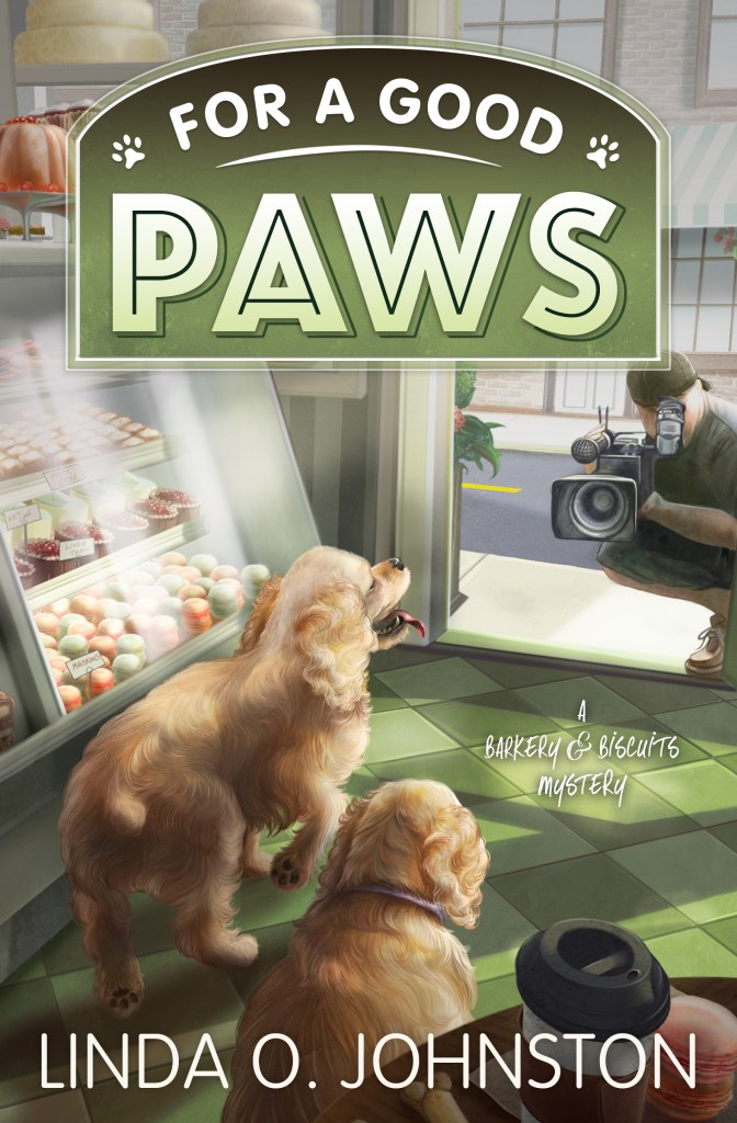 Image of book cover For a Good Paws, but Linda O. Johnston