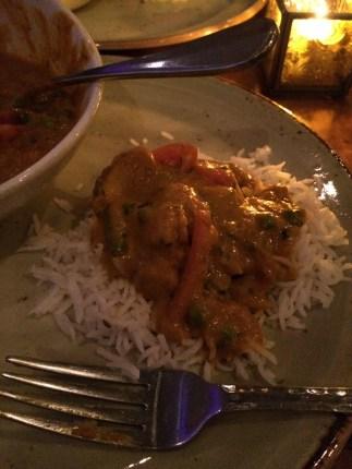 korma & rice
