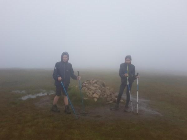 Quiraing in de mist