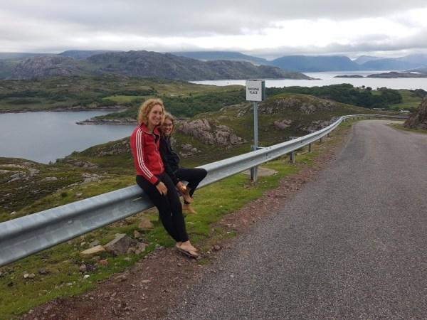mooie uitzichten op de north coast 500 in de highlands