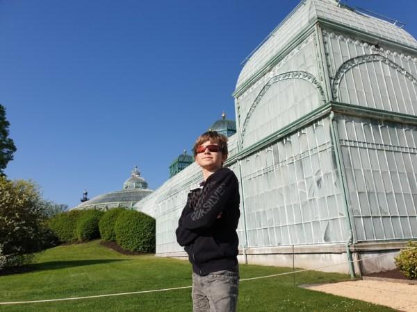Vic voor koninklijke serres in Laken