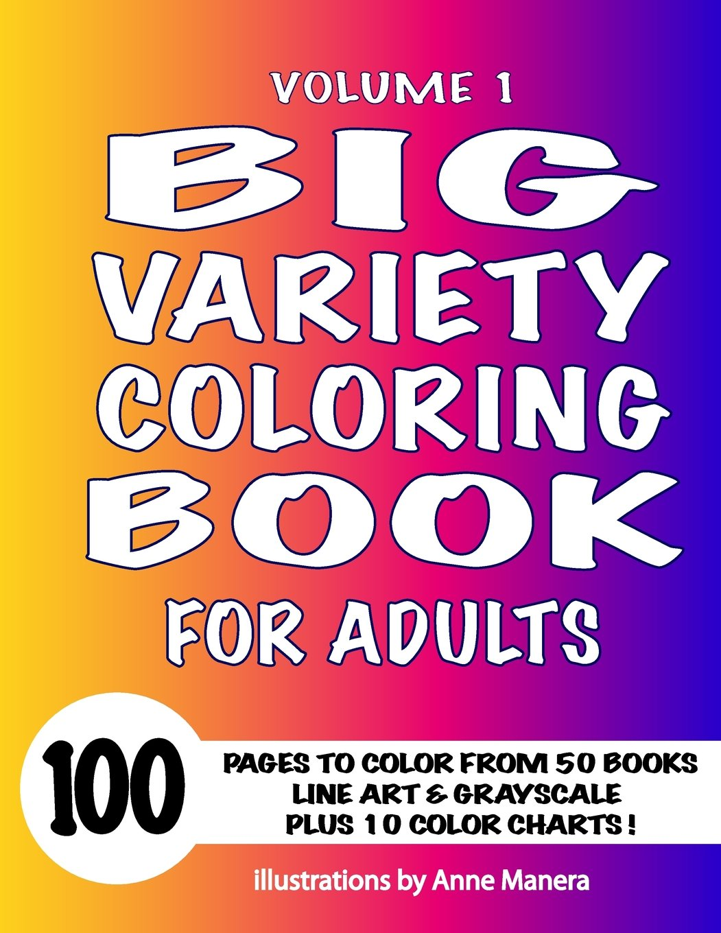 Coloring Books by Anne Manera for adults