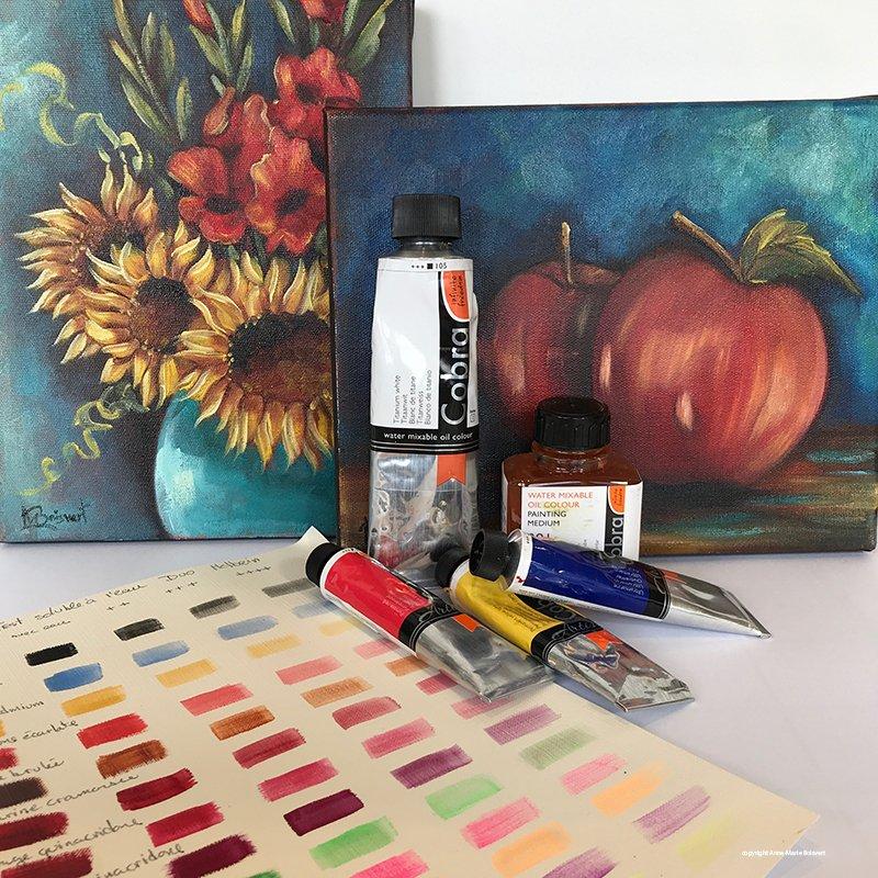 peinture soluble à l'eau cobra