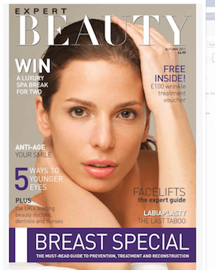 EXPERT BEAUTY magazine