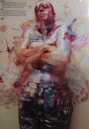 Sunday Times Magazine featuring artist Jenny Saville cover by Nigel Parry