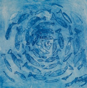'Maldivian Circle' - Limited edition print - Etching