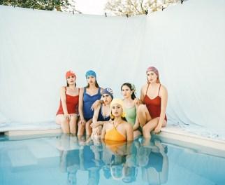 Women in bathing suits Photographer Vikram Kushwah. Stylist Mair Joint