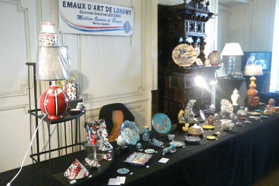 Emaux d'art de Longwy - Christian Leclerc, Meilleur Ouvrier de France