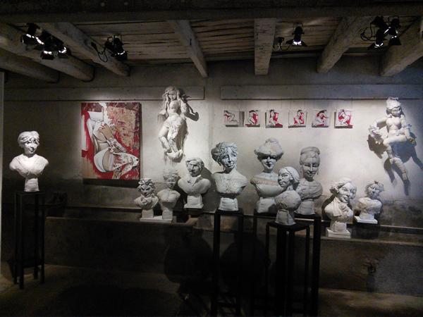 Anne-Valérie Dupond exposition Goviller TEM expo 2016 Lorraine
