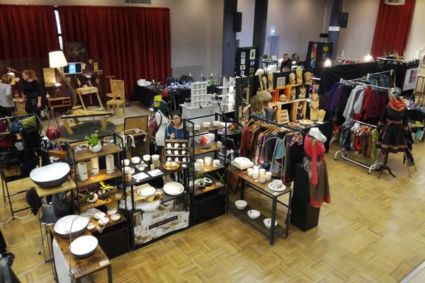 Gare a l Art Nancy 2018 marche Noel artisan lorrain Grand Est expo