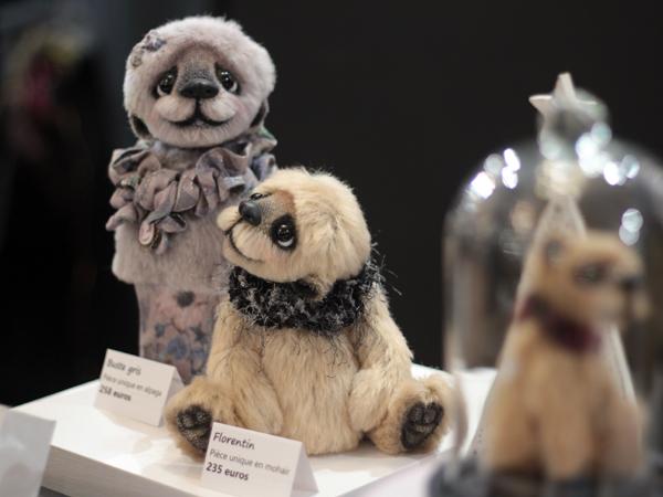 Marche noel artisans d art beffoi Thionville artisanat anne-marie verron sculpture textile