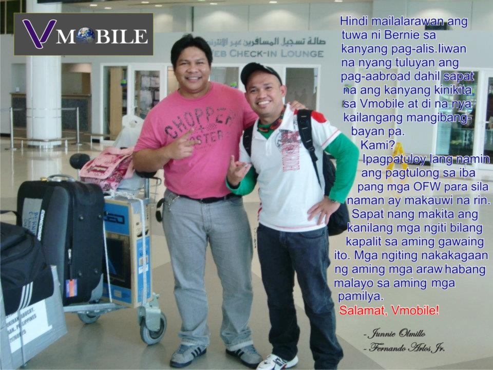VMOBILE | Bring Home an OFW For Good! (2/2)