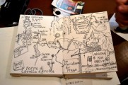 Daily journal and map making