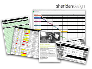Sheridan Design - Database Creation, CRM, Project Schedules, Timelines & Milestones