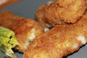 croquettes jambon et mozzarella 1