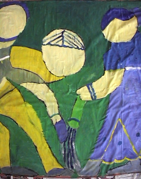 Mam art labour painting sweepers detail 3_2