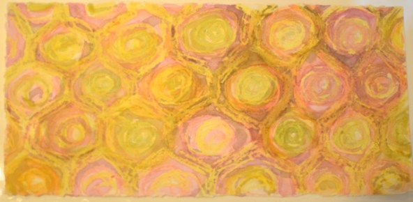 Today's theme was drawing on the art of Paul Klee
