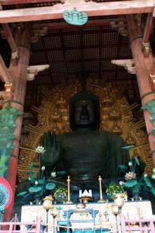 The world's largest bronze statue of the Buddha Vairocana.