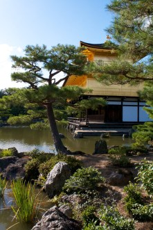 In case you were curious, here is an alternative view of the Golden Pavilion.
