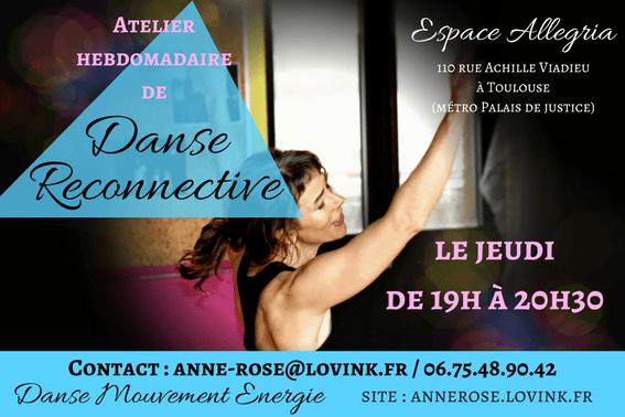 danse reconnective Toulouse-Anne Rose lovink