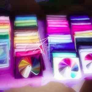 tissus couleurs pour atelier vêtement énergie