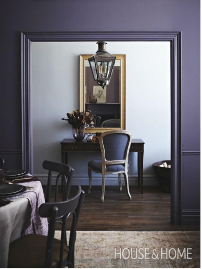 Deep Rich Grey Tones In Light Room