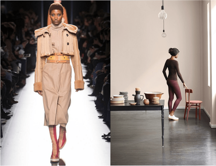8 Autumn colours for interiors from Paris Fashion Week